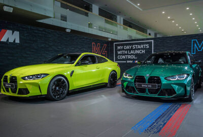 BMW M3 ir M4 pristatymas