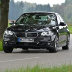 BMW 518d, 150 PS, sophistograu, Luxury, Leder Dakota Oyster