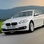 BMW 520d Touring, 190 PS , mineralweiß metallic, Luxury, Leder Dakota Mokka